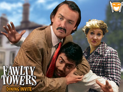 Fawlty Towers Dinner Show -Al Hamra Golf Club 11th October