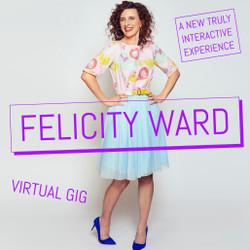 Felicity Ward Live on Zoom