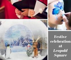 Festive celebration at Leopold Square