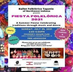 Fiesta Folklorica 2021-a Summer Celebration!