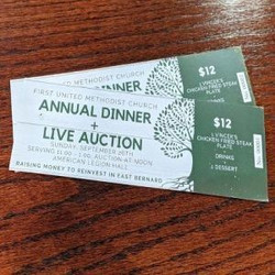First United Methodist Church Annual Dinner and Live Auction