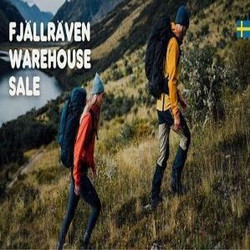 Fjällräven Warehouse Sale