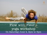 Flow with Fleur - yoga workshop