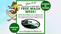 Flying Ace Express Englewood Grand Opening Free Wash Week: 9204 N. Main St