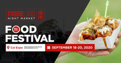 Foodieland Night Market - Sacramento (September 18-20) | Cal Expo