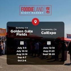 Foodieland Night Market - Sf Bay Area (July 3-5, 2020) | 4th of July