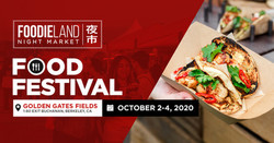 Foodieland Night Market - Sf Bay Area (October 2-4)