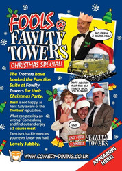 Fools @ Fawlty Towers Christmas Special Dinner Haywards Heath 17/12/2021