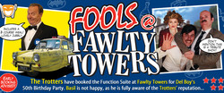 Fools @ Fawlty Towers Christmas Special Dinner Tunbridge Wells 28/11/2020