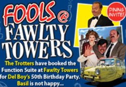 Fools at Fawlty Towers Mercure Brighton Seafront Hotel 2nd May 2020