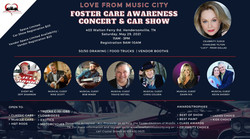 Foster Awarenesses Concert and Car Show