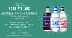 Four Pillars Australian Gin Tasting