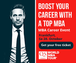 Frankfurt's leading Mba Career Event - Qs World Mba Tour