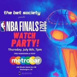 Free Nba Finals Outdoor Watch Party! - presented by the bet society