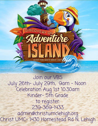 Free Vacation Bible School July 26 to 29 in Lehigh Acres