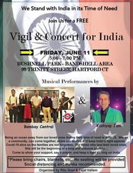 Free Vigil/Concert for India
