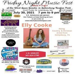 Friday Night Music Fest Show # 3, feat Elly Cooke