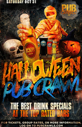 Fright Night HalloWeekend Pub Crawl Houston - October 31, 2020