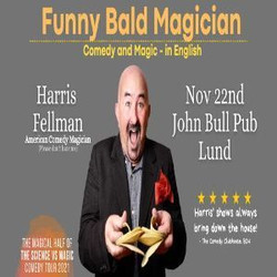 Funny Bald Magician: Lund