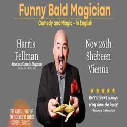 Funny Bald Magician: Vienna