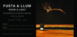 Fusta & Llum / Wood & Light – tables & artistic lighting
