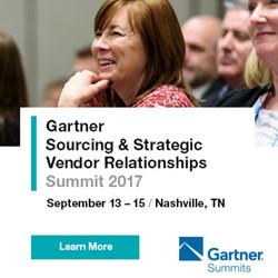 Gartner Sourcing & Strategic Vendor Relationships Summit 2017 - Nashville
