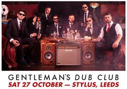 Gentleman's Dub Club - Stylus, Leeds