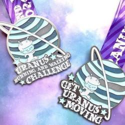 Get Uranus Moving! Running and Walking Challenge