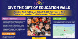 Gift of Education Walkathon