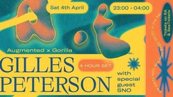 Gilles Peterson 4hr set at Gorilla