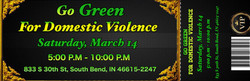 Go Green for Domestic Violence