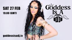 Goddess Is A Dj Live