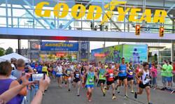 Goodyear Half Marathon & 10k, August 14, 2021 in Akron