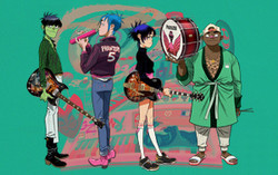 Gorillaz Song Machine Live on LIVENow - Buy Tickets $15 - Virtual Event - Chicago