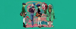 Gorillaz Song Machine Live on LIVENow - Buy Tickets $15 - Virtual Event - Indianapolis