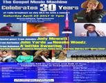 Gospel music machine show 30th year anniversary concert