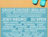 Groove Odyssey Ibiza Weekender 2017 with Joey Negro - Dj Spen + More