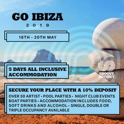 Groove Odyssey Ibiza Weekender 2019 with Joey Negro - Dj Spen + More