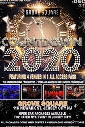 Grove Square New Year's Eve 2020 in Jersey City, Nj