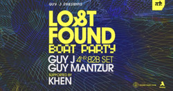 Guy J presents Lost & Found Ade Showcase Boat Party