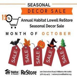 Habitat for Humanity ReStore: Seasonal Decor and Homegoods Sales Event