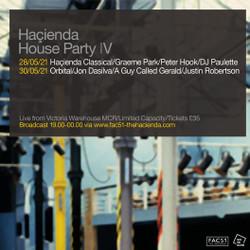 Hacienda House Party 1v - Orbital Live