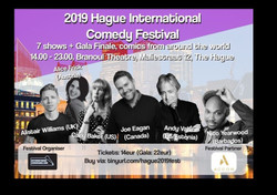 Hague International Comedy Festival, Sat, Sept 28
