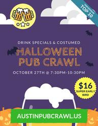 Halloween Pub Crawl, Austin