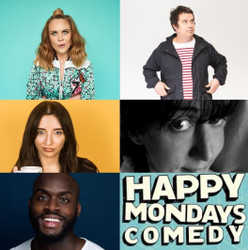 Happy Mondays Comedy Lockdown Live Virtual Zoom Special : Paul McCaffrey , Joanne McNally and more