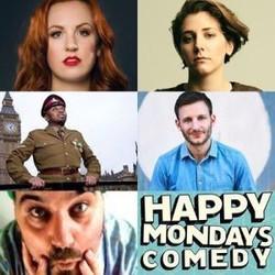 Happy Mondays Comedy Lockdown Online Zoom Special : Catherine Bohart. Sarah Keyworth, Chris Martin