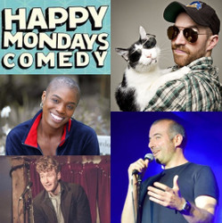 Happy Mondays Comedy Lockdown Virtual Zoom Special : Damian Clark , Stefano Paolini, Thanyia Moore