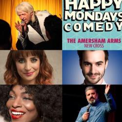 Happy Mondays Comedy New Cross : Clinton Baptiste, Rich Wilson, Miss Mo'Real , Luke Kempner & more