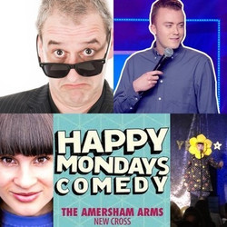 Happy Mondays Comedy at Amersham Arms New Cross : Boothby Graffoe & guests