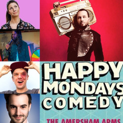 Happy Mondays Comedy at The Amersham Arms New Cross : Abandoman, Luke Kempner and guests